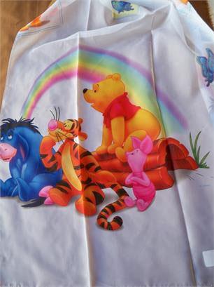 Ύφασμα Βουάλ, Licensed Boys Winnie The Pooth Rainbow