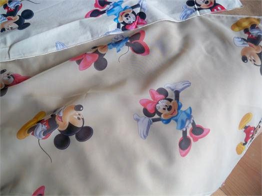 Ύφασμα, Παιδικό Βαμβακερό Mickey&Minnie Disney