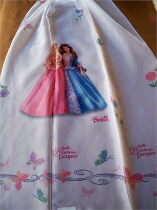 Ύφασμα Βουάλ, Licensed Girls Barbie Princess Pauper