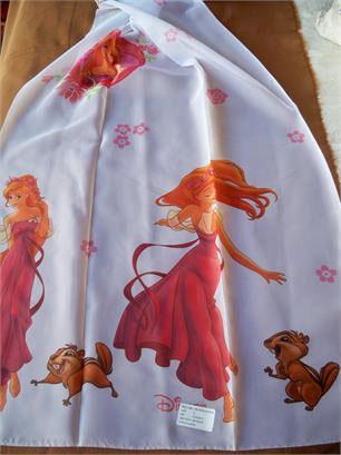 Ύφασμα Βουάλ, Licensed Girls Disney Enchanted Princess