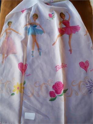 Ύφασμα Βουάλ, Licensed Girls Barbie Balerin