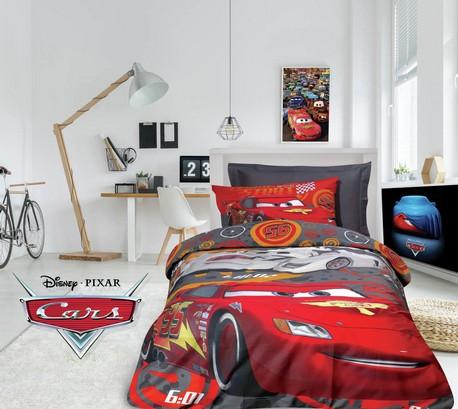 Σετ Πάπλωμα Μονό, Cars 5009 Disney, Das