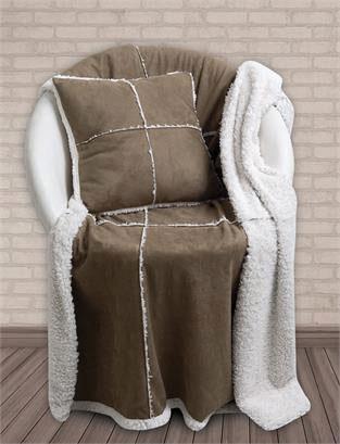 Κουβέρτα Καναπέ Patchwork 130Χ170, Blanket Line 327, Das