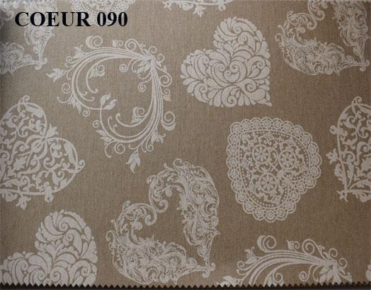 Τραπεζομάντηλο 140X140, Σχέδιο Coeur 090, Συσκευασία 10 Τεμαχίων, VsHome