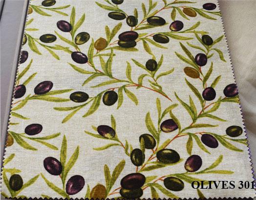Τραπεζομάντηλο 140X140, Σχέδιο Olives 301, Συσκευασία 10 Τεμαχίων, VsHome