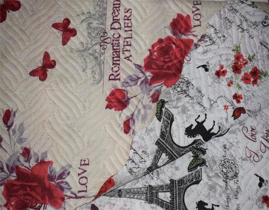 Κουβερλί Διπλό, Romantic Paris, VsHome