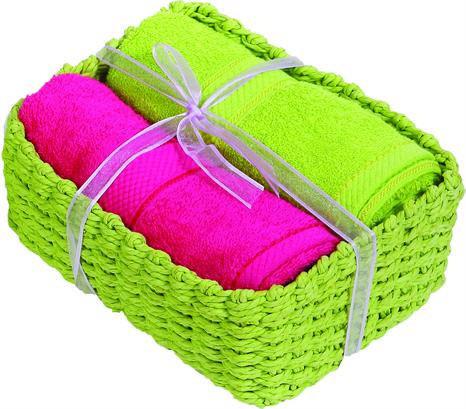 Πετσέτες Προσώπου, Καλαθάκι δώρου5, Viopros