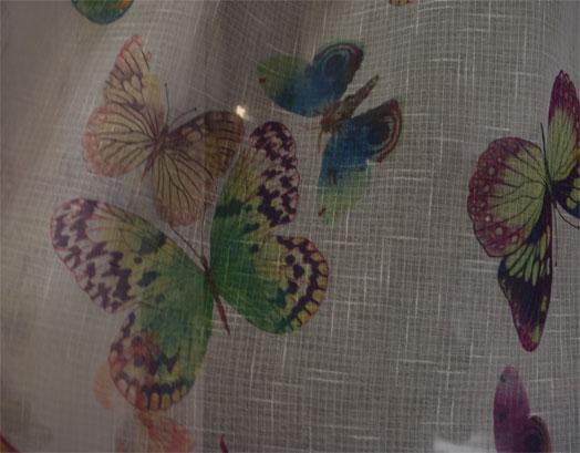 Έτοιμη Κουρτίνα Γάζα 280Χ280, Butterfly 8004, VsHome