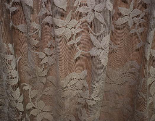 Έτοιμη Κουρτίνα Δαντέλα Λουλούδι, 2.70 X 2.80, 633-4, Σχ. VsHome