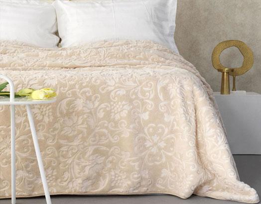 Κουβέρτα Υπέρδιπλη Βελουτέ, Aura Daphne, Palamaiki