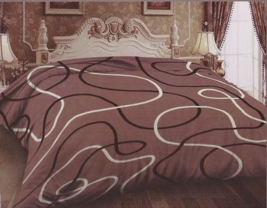 Κουβέρτα Διπλή Βελούδινη Εμπριμέ 02, VsHome