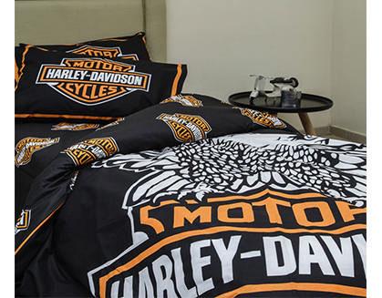 Σετ Παπλωματοθήκη Μονή, Harley Davidson 496, Homeline