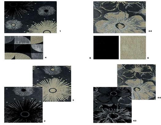 Ύφασμα, Σενίλ Limoges Monochromatic