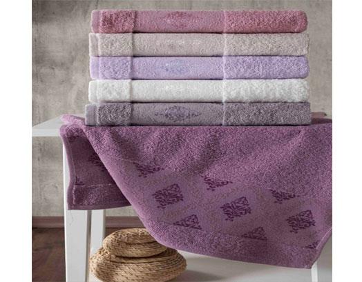 Πετσέτες Μονόχρωμες Προσώπου, Nora Συσκευασία 6 τεμαχίων, VsHome