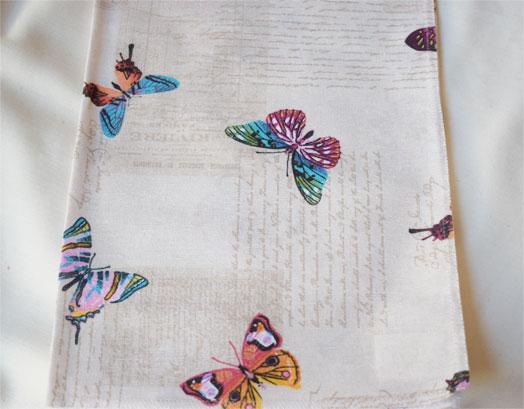 Τραπεζομάντηλο 140X140, Σχέδιο Papillon 101, Συσκευασία 10 Τεμαχίων, VsHome