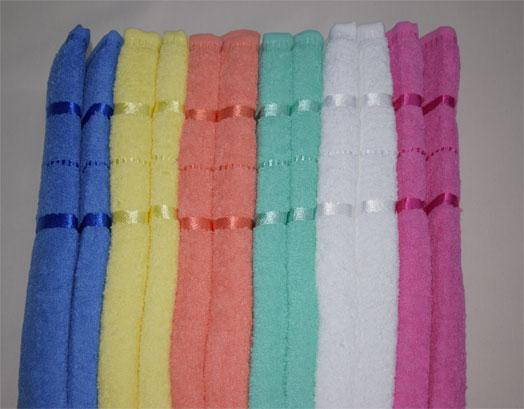 Πετσέτες Μονόχρωμες Προσώπου, VsHome