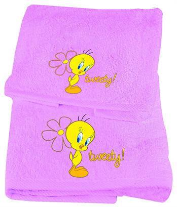 Σετ Πετσέτες 2 Τεμαχίων, Tweety, Viopros