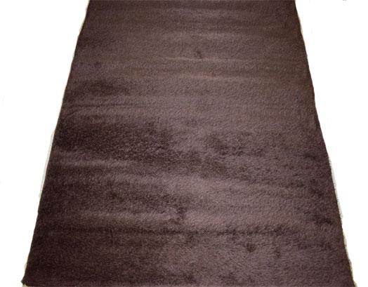 Χαλί 190X230, Shaggy Dark Brown, VsHome