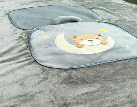 Κουβέρτα Κούνιας Τσάντα Βελουτέ, Sweet Bag, Morven